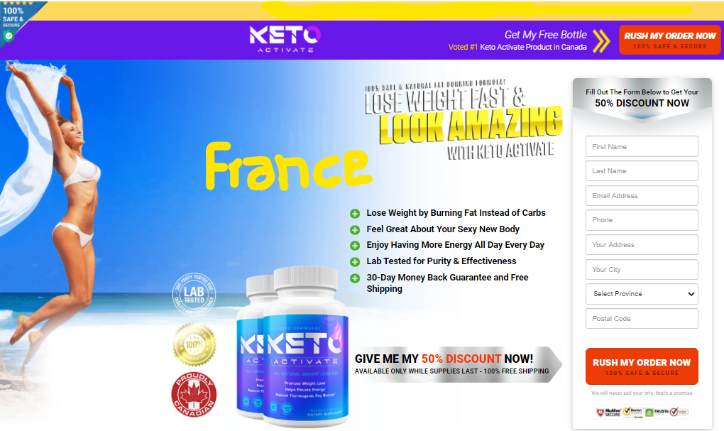 Keto Activate France