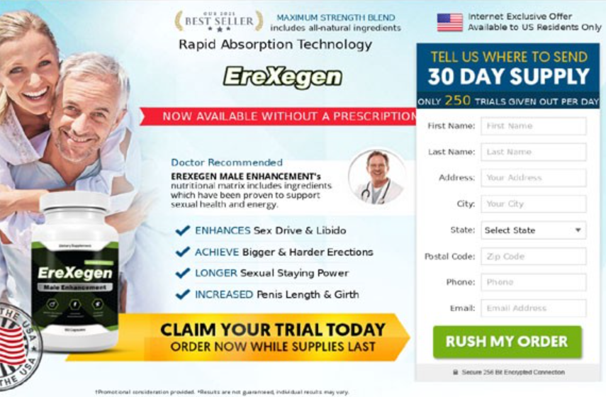 EreXegen Male Enhancement