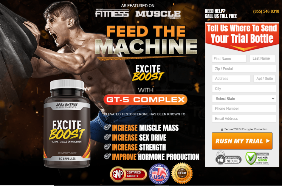 Excite Boost Muscle
