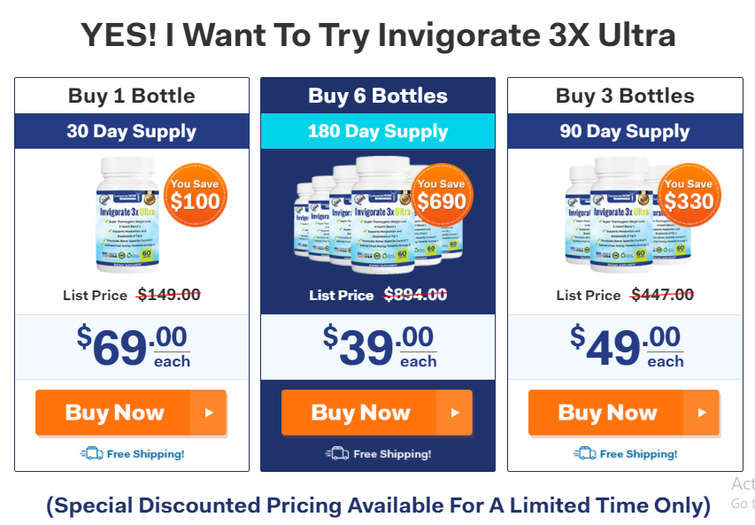 Invigorate3X Ultra
