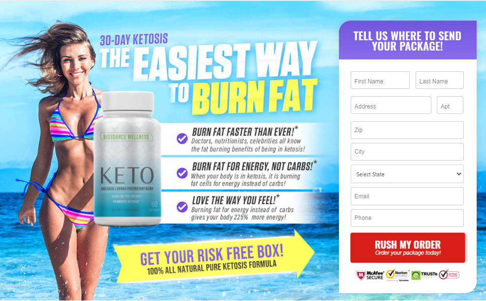 Biosource Wellness Keto: Reviews | Powerfull Keto Pills | Burn Fat 10 Way