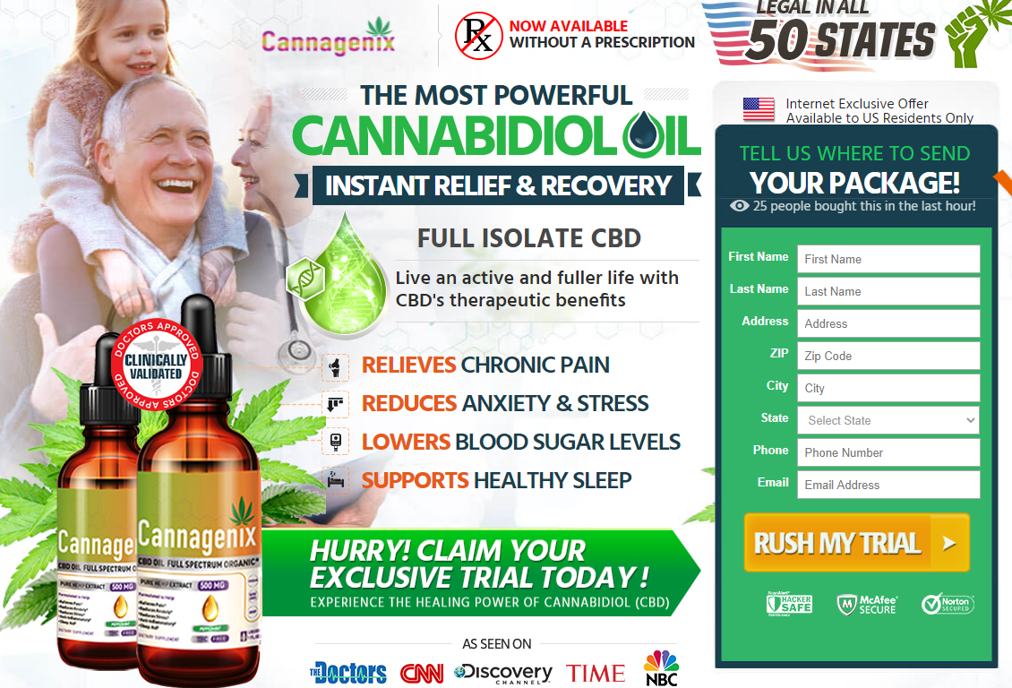 Cannagenix CBD Oil Reviews
