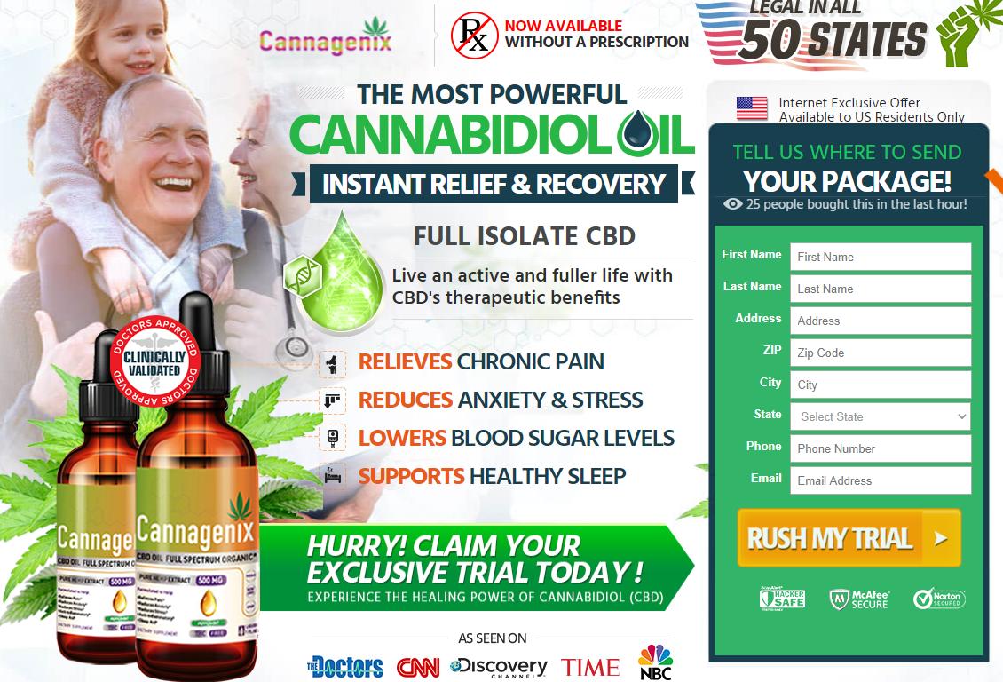 Cannagenix CBD Oil Reviews