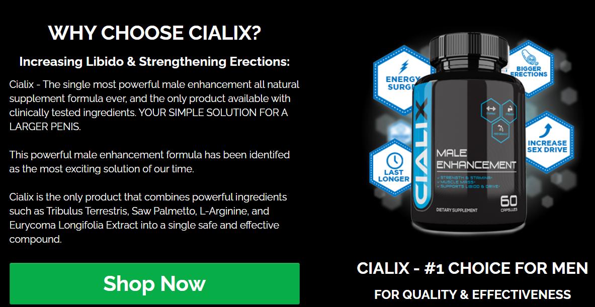 Cialix Dr OZ
