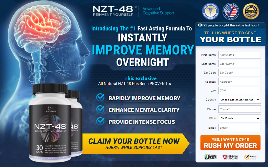 Limitless Brain -NZT-48